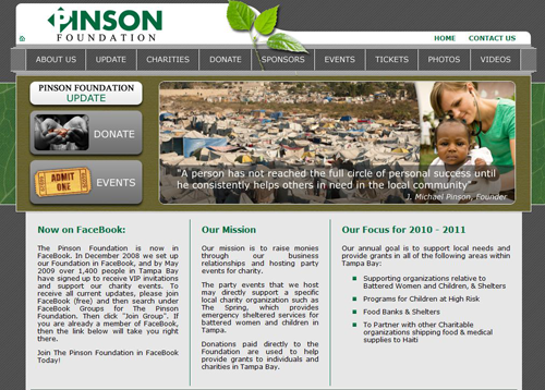 Project - Pinson Foundation