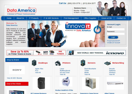 BWS Ecommerce Solutions - Data America