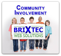 BrixTec Web Solutions - Community Involvement