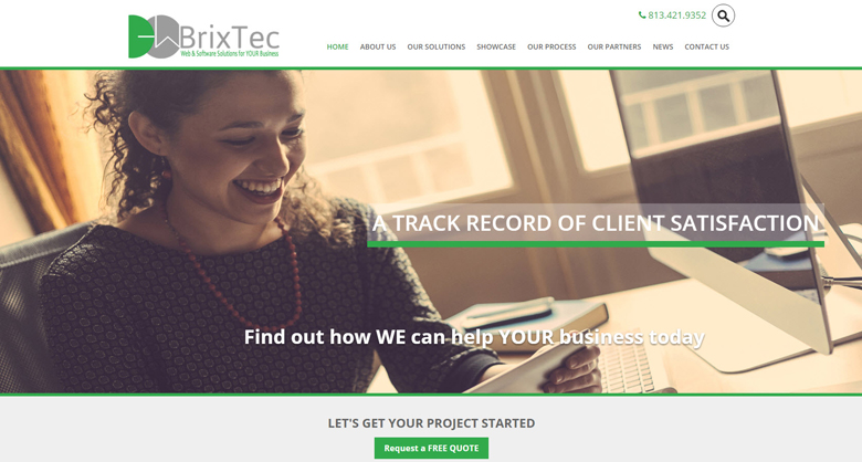 BrixTec New Website May 2016